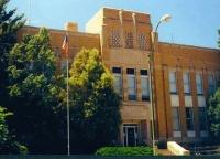 Dawes County Courthouse - closeup