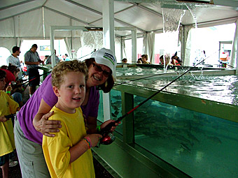 Northern Plains Outdoor Expo_Kid Fishing