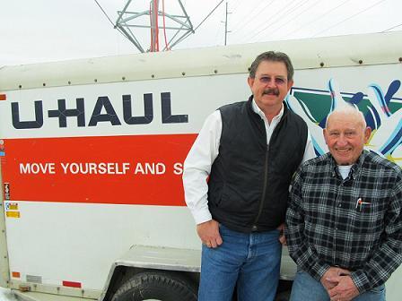 Del Penlerick (left) and Bill Heitz.